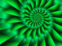 Green Spiral Royalty Free Stock Images