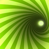 Green spiral Royalty Free Stock Photography