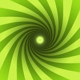 Green spiral Stock Photos