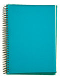 Green spiral notebook Royalty Free Stock Photo
