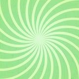 Green spiral vintage Stock Image