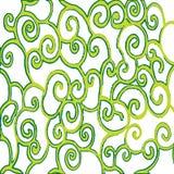 Green spirals Stock Photo