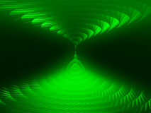 Green spirals  Royalty Free Stock Images