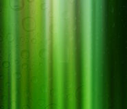 Green spirit drops Royalty Free Stock Images