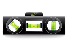 Green spirit level Stock Image