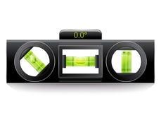 Green spirit level Stock Image