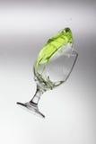 Green Splash Royalty Free Stock Photos