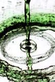 Green splash Stock Image
