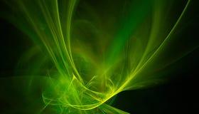 Green splash Stock Images