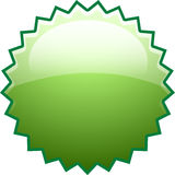 Green splash boom new. Gradient green boom splash icon Royalty Free Stock Image