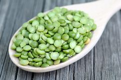 Green split pea Stock Photography
