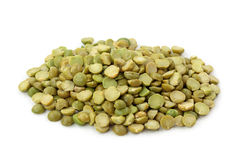 Green split peas Stock Image