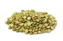 Green split peas Stock Image