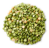 Green split peas Royalty Free Stock Photo