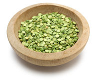 Green split peas Stock Images