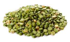 Green split peas Stock Photography
