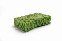 Green sponge Stock Photos