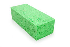 Green Sponge Stock Photography