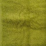 Green sponge towel Royalty Free Stock Photo