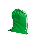 Green sport bag Royalty Free Stock Images
