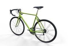 Green Sport Bike Royalty Free Stock Photography