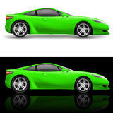 Green Sport Car Stock Images