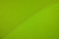 Green sport clothing fabric Stock Photography
