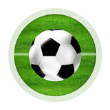 Green Sports Icon Stock Images