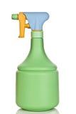 Green spray bottle Royalty Free Stock Photography