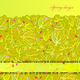 Green sprig background. Stock Image