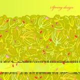Green sprig background. Stock Image