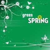 Green spring Stock Photo