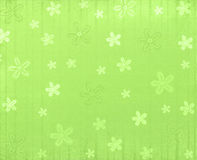 Green spring background. With flowers vector illustration