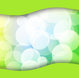 Green spring background Stock Image