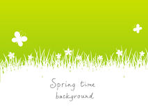 Green spring background Royalty Free Stock Photography