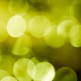 Green spring bokeh Stock Photography