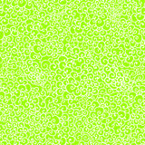 Green spring doodle seamless pattern like lace Stock Image