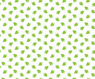 Green spring leaves seamless pattern wallpapper Royalty Free Stock Photo