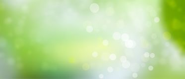 Green spring summer background - sunny and fun - Bokeh texture pt2. Sunny weather - summer mood - green background with lights Royalty Free Stock Images