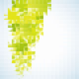Green square abstract background. EPS 10. Vector file included Stock Illustration