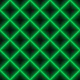 Green square laser grid - seamless background Royalty Free Stock Images