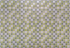 Green Square Tile Background/ Texture Royalty Free Stock Photography
