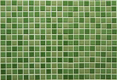 Green square tiles pattern Royalty Free Stock Images