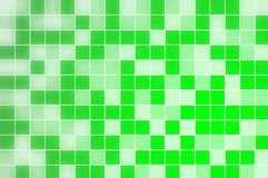Green squares background Royalty Free Stock Photos