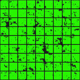 Green squares of metal, stone with dark spots. Seamless vector texture. Technology seamless pattern. Royalty Free Stock Photo