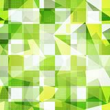 Green squares seamless pattern Royalty Free Stock Photos