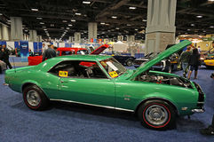 Green 1st Generation Camaro SS Stock Photos