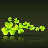 Green st patrick's day vector Stock Images