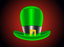 Green St. Patricks Day hat. Vector Stock Photos