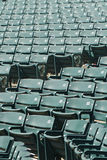 Stadium Seating Angled Royalty Free Stock Photo